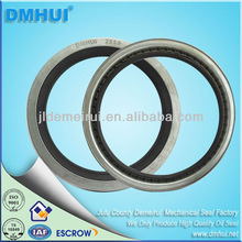 Large bore assembled industrial oil seal