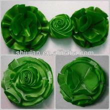 Malha flor de tecido para vestidos
