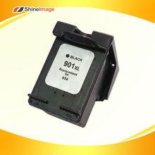 Remanufactured inkjet cartridge 901BKXL for hp