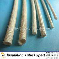 silicone rubber fiberglass wire insulation sleeves