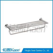 bathroom accessory double bathtowel shelf