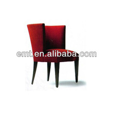 Hotel furniture with red chair from EMT, the hotel coffee chair(EMT-HC72)