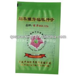 Tobacco seeds packaging bag