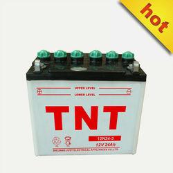 snowplanes battery price lead acid motorcycle battery 12N24-3
