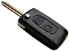 Car key shell for Citroen 307 2 buttons flip key case(CI2003)