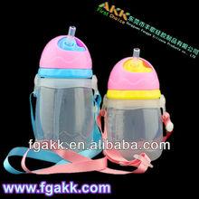New Design Wholesale 210ml/280ml eco- friendly Plastic Baby water Bottle