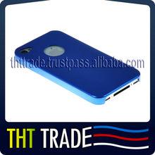 Aluminium case cover for iphone mobile blue