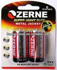 carbon zinc dry battery 1.5v r14 battery