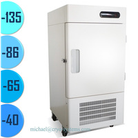 -86, -135 degree 60 litre small stainless steel hospital industrial medication biological medical refrigerators
