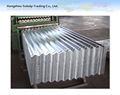 galvanizado corrugado para techos de hoja