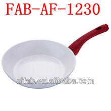 Aluminium Ceramic fashional frying pan White
