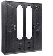 popular style 4 doors livingroom wooden wardrobe design (8804)