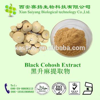 Lowest Price Black Cohosh Extract Powder