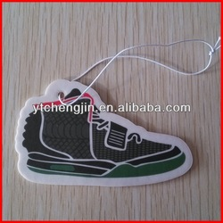 2015 New Fashional Haning Paper custom car air freshener