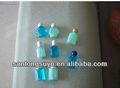 Novo estilo de pvc 20ml shampoo de garrafas de plástico, garrafa plástica cosmética