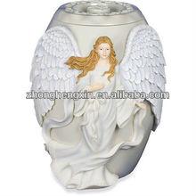 decoración ángel urnas funerarias