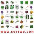 flores feitas à mão de lã e atacadista de flores artificiais
