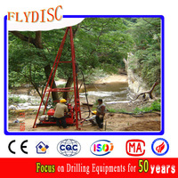 Small Portable Water Well Drilling Machine