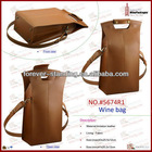 WinePackages leather bag,genuine leather bag,bag leather