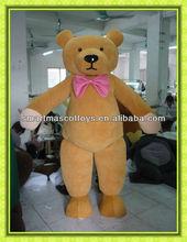 Hot adult teddy bear mascot costume