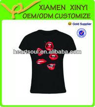 Custom wholsale popular Heavyweight New Design tshirts promotional cheap
