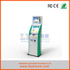 LKS hot sale touch screen payment kiosk with card receipt printer