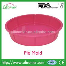De silicona pastel de placa de cocción