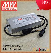 MW LDV-185-350A Mean Well original 350mA 6 channels led driver