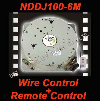Switch control+Remote control light lift,chandelier motor,chandelier lifts,lighting lowering system,NDDJ100-6M