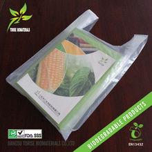 EN13432/ASTM D6400 100% Biodegradable PLA Plastic Bags