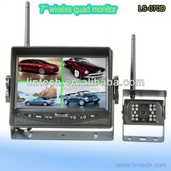 2013 the high quality waterproof 7'' wireless 360 degree car camera system for truck