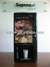 Automatic coin operated 3 hot coffee vending machine price