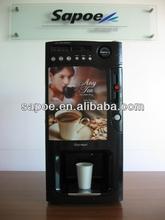 Automática que funciona con monedas 3 caliente expendedora de café precio de la máquina