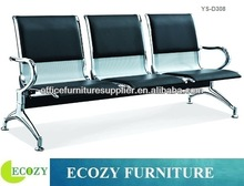 Upholstery PU padded airport lounge chairs