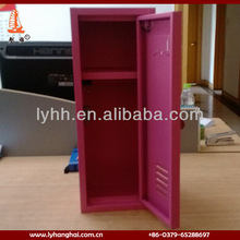 lovely pink metal kids mini lockers for sale