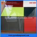 de alto brillo gabinete de cocina puerta del panel uv de surtidor de china
