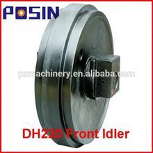 DH220 Front Idler for Daewoo Excavator/DH220 Excavator Track Idler Roller/DH200 Idler Wheel