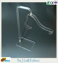 2013 new popular acrylic shoe rack / plexiglass shoe display gorgeous