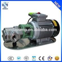 WCB small double gear pump portable oil pump electric diesel transfer pump