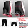 cycling clothing Club order sublimation printing Custom padded Cycling Shorts