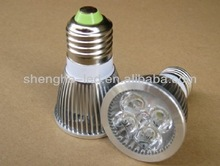 5W LED Lamp Cup, E27/GU10/MR16 lamp holder LED light bulb