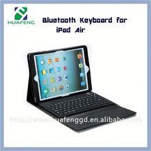 Detachable bluetooth keyboard case for ipad air