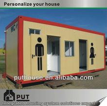 prefab container toilet shower unit
