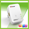 200Mbps Wallmount homeplug AV Powerline ethernet network adapter,power adapter