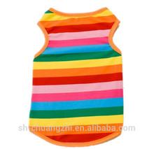 colorful waistcoat & pet party clothes & pet clothes