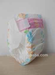 brand sleepy baby diaper with pe breathable film