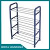 storage metal rack with wheels shoe rack