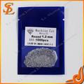 جودة عالية أحجار كريمة الأبيض 1.2mm وضع الشمع