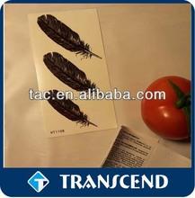 kids designs mini temporary tattoo sticker/Different styles Jewelry Inspired Metallic Temporary Tattoos Stickers