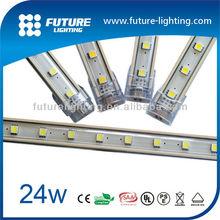 connectable RGB or single color decorative light DC24V IP54 indoor aluminum housing led light bar